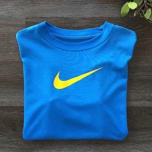 Nike Dri-FIT Shirt  Boys Size L Blue